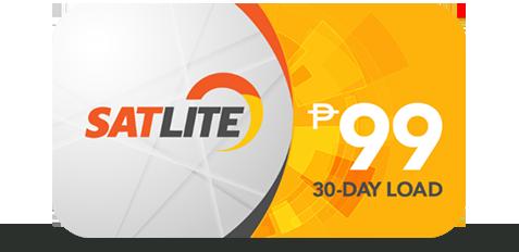 satlite 99 peso load